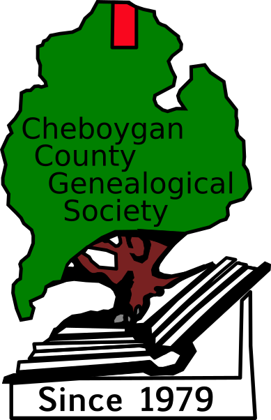 Cheboygan County Genealogical Society Logo